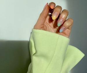 nails, style, and green image