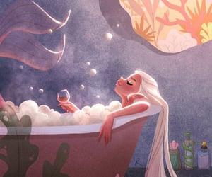 art, bath, and creativity image