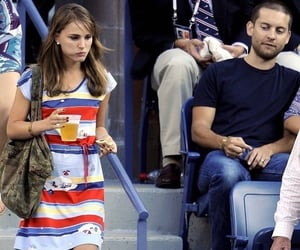 natalie portman and Tobey Maguire image