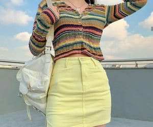clothes, kfashion, and korean image