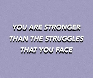 quotes, purple, and strong image