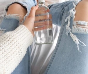 jeans, water, and aesthetic image