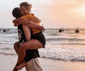 amor, beach, and boyfriend image