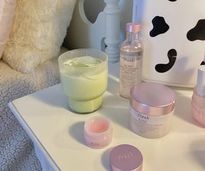 skincare, aesthetic, and pastel image