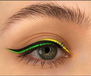 cosmetics, eyes, and makeup image