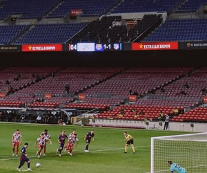 football, lionel messi, and visca barça image