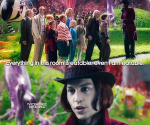 2005, charlie and the chocolate factory, and family image