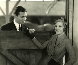 clark gable, 30's, and madge evans image