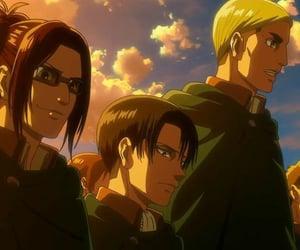 Erwin, levi, and shingeki no kyojin image
