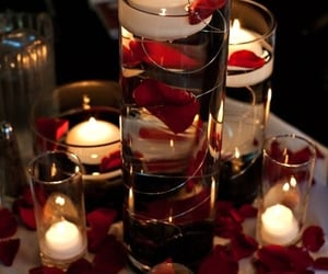 article, candles, and picnic image