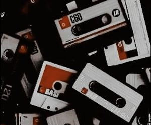 aesthetic, cassette, and backgrounds image