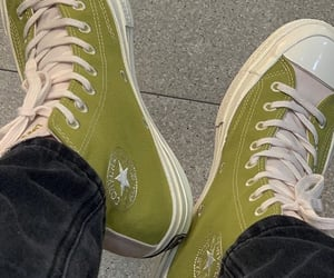 aesthetic, green, and shoes image
