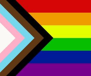 anti racism, progress, and rainbow image