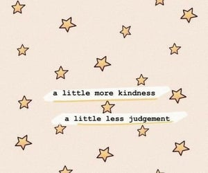 stars, quotes, and kindness image