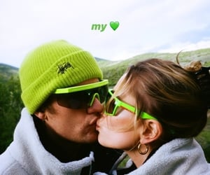 couple, kiss, and justin bieber image