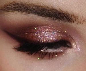 glam, beauty, and eyes image