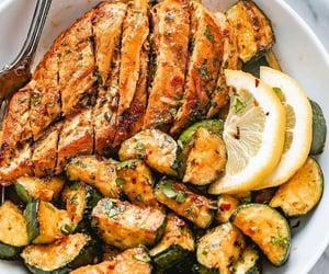 food, healthy, and lemon image