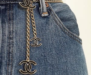 chanel, fashion, and jeans image