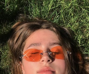 aesthetic, sunglasses, and clairo image