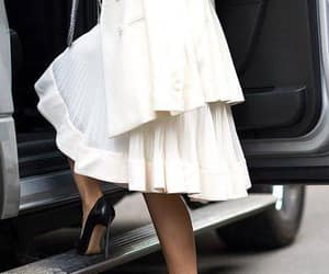 classic, dress, and pleats image