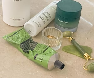 green, cosmetics, and products image
