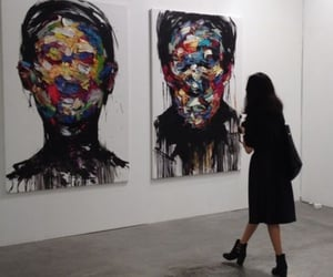 art, cool, and painting image