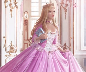 and, princess, and the image