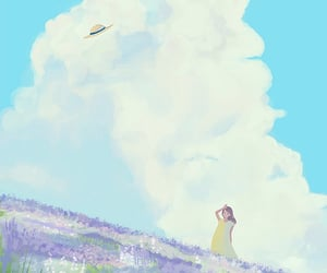 air, spring day, and alone image