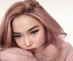 aesthetic, dye, and makeup image