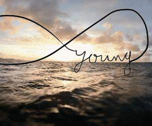 young, sea, and forever image