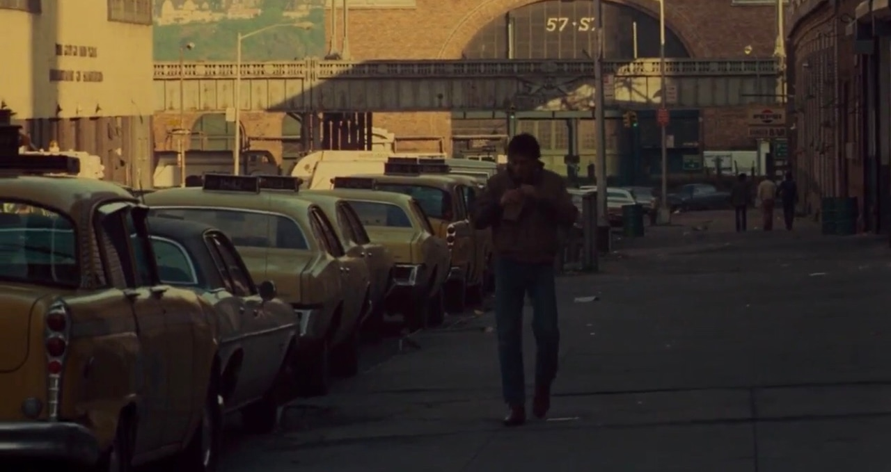 film, taxi driver, and travis bickle image