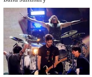 band, bands, and tumblr image