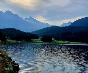 lake, nature, and swiss image