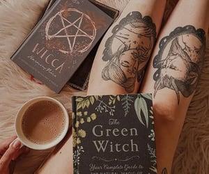aesthetic, coffee, and satan image