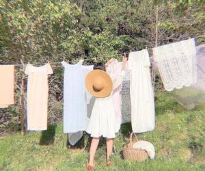 laundry and cottagecore image