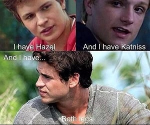 hunger games, gale hawthorn, and augustus waters image