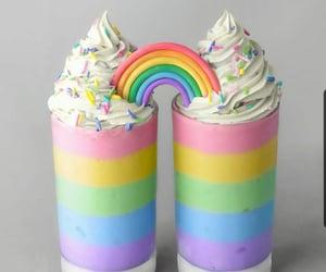 arcoiris, comida, and delicioso image