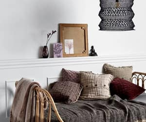 blanket, decor, and pillows image