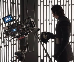 behind the scenes, star wars, and the last jedi image