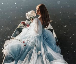 aesthetic, dress, and enchanted image