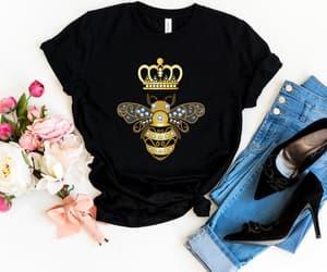 etsy, women shirts, and honey bee shirt image