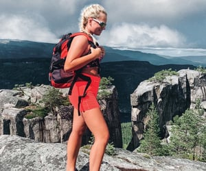 adventure, norway, and hiking image
