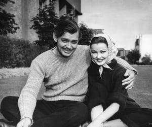 Gene Tierney and vintage image