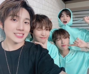 blue, 24k, and group image