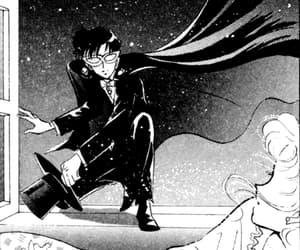 anime, tuxedo mask, and manga image
