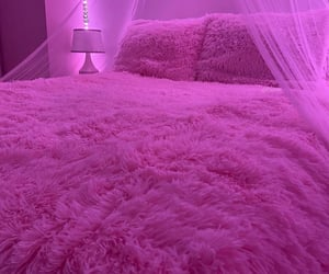 pink, aesthetic, and bedroom image