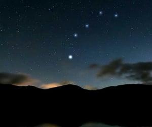 dark, daybreak, and galaxy image
