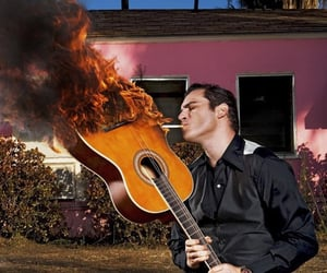 aesthetic, cool, and guitar image