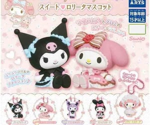 kuromi, my melody, and cute image