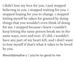 heartbreak, letting go, and words breathe image